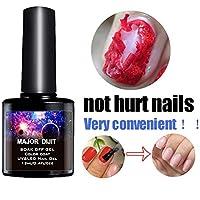 Mihify Removedor de esmalte de uñas mágico,profesional elimina el esmalte en gel remojo