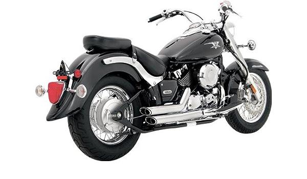 Vance Hines Shortshots Chrome Yamaha Xvs650 V Star 06 10 Drag Star 1997 2007 Motorrad