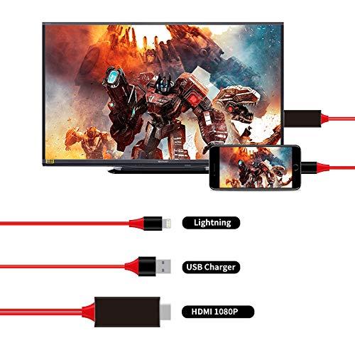 Shop Story HDMI-Kabel, Konverter Audio Video für iPhone und iPad, zum Anzeigen der Inhalte