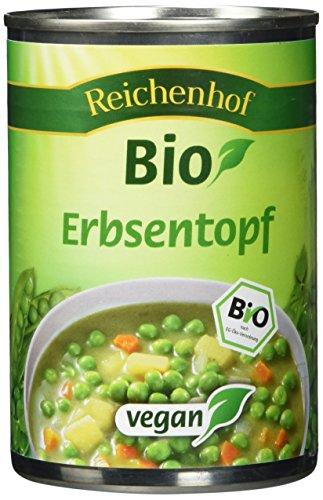 Reichenhof Bio Erbsentopf  - vegan, 3er Pack (3 x 400 g)
