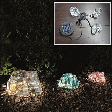 H&M Satz von 3 solar Farbwechsel Leuchten Gartenleuchten Eis