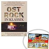 Ostprodukte-Versand.de DVD Ost Rock in Klassik, Doppel DVD | GRATIS DDR Geschenkkarte | Ossi Artikel | Geschenkidee für alle Ostalgiker aus Ostdeutschland | DDR Produkte