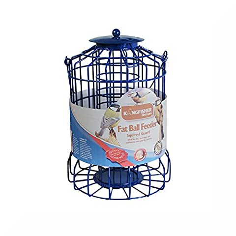 Fat Ball Feeder with Squirrel Guard & Inspirational Magnet