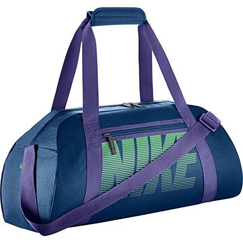 Nike Gym Club Women's Training Duffel Bag (One Size, BINARY BLUE/DARK IRIS/TOURMALINE) Nike Lady-clubs
