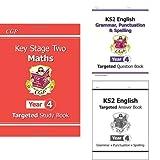 KS2 Year 4 English and Maths 3 Book Bundle