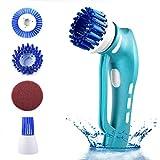 Die besten Elektrischen Druck-Herd - Elektrische Reinigungsbürste Handheld Reiniger Scrubber Pinsel Putzhelfer mit Bewertungen
