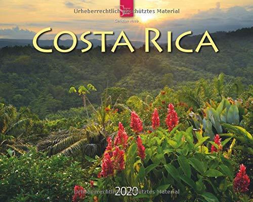 Costa Rica: Original Stürtz-Kalender 2020 - Großformat-Kalender 60 x 48 cm -