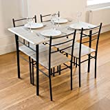 Cecilia 5 Piece Table & Chair Set Best Review Guide