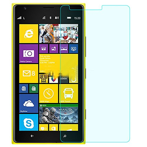 SNOOGG NOKIA LUMIA 1520 Full Body Tempered Glass Screen Protector [ Full Body Edge To Edge ] [ Anti Scratch ] [ 2.5D Round Edge] [Hd View] - White  available at amazon for Rs.125