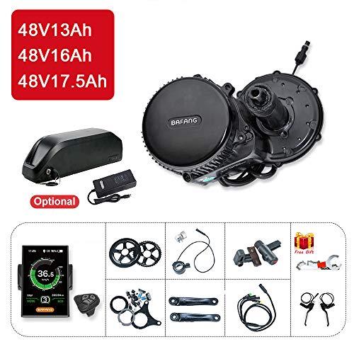 Bafang Bicicleta eléctrica BBS02B 48V 750W Kit conversión
