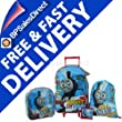 4pcs Thomas The Tank Engine Wheeled Bag Luggage Set  by THOMAS THE TANK ENGINE