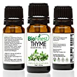 BioFinest Thyme Oil - 100% Pure Thyme Essential Oil - Premium Organic - Therapeutic Grade - Aromatherapy - Boost Memory - Helps to Balance Hormone - FREE E-Book (10ml)