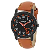 John Morgan Analogue Black Dial Men's Wa...
