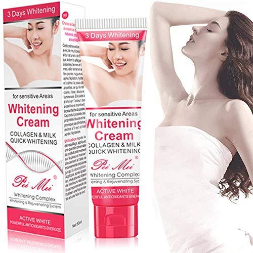 Crème blanchissante Se débarrasser rapidement de l'aisselle foncée/de la cuisse intérieure/du coude/du genou 50G