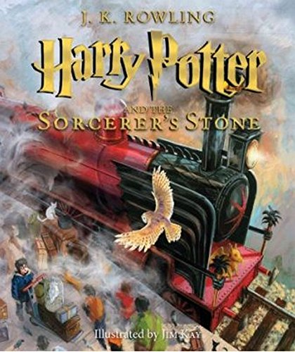 Harry Potter and the Sorcerer's Stone: The Illustrated Edition (Harry Potter, Book 1) (Harry Potter Illustrated Editions)