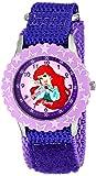 Disney Kids' W000963 Ariel Stainless Steel Time Teacher Purple Watch best price on Amazon @ Rs. 2059