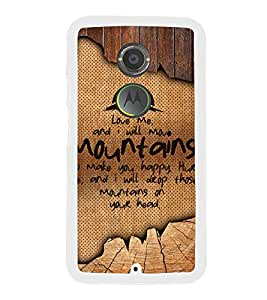 Fuson Love Quote Designer Back Case Cover for Motorola Moto X2 :: Motorola Moto X (2nd Gen) (Love Quotes Inspiration Emotion Care Fun Funny)