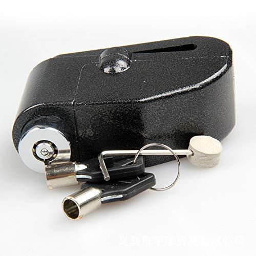 Preisvergleich Produktbild Heylookhere Praktisch Einzigartig 1 Stück Motorrad Elektroauto Mountainbike Bremse Zubehör Diebstahlsicherung Alarm (Schwarz)