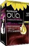 Garnier - Olia - Coloration Permanente à l'Huile Sans Ammoniaque Rouge - 4.6 Rouge-Cerise Profond