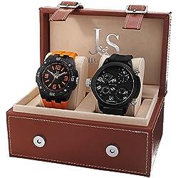 Joshua & Sons Set de 2 relojes JS-46-01
