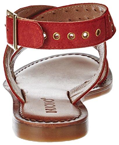 Inuovo - 7329, Laccetto alla caviglia Donna Rouge (Red)
