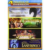 Pack Infantil 2: Mi Monstruo Y Yo, Peter Pan: La Gran Aventura, Jumanji, Dentro Del Laberinto