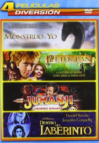 pack-infantil-2-mi-monstruo-y-yo-peter-pan-la-gran-aventura-jumanji-dentro-del-laberinto-import-espa