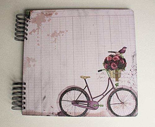 Fotoalbum Spiralalbum Fahrrad Vintage Gartenalbum Garten Album Photoalbum Spiralalbum