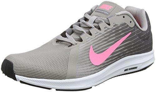 Nike Downshifter 8, Zapatillas de Running para Mujer, Gris (Gunsmoke/Sunset Pulse-Atmosphere Grey 004), 41 EU