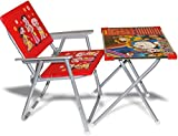 #10: Kids's Study Table Set - Red