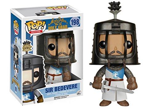 Monty Python y los Caballeros de la Mesa Cuadrada Pop! Movies Figura Sir Bedevere 9 cm