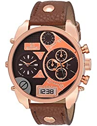 Swisstyle Expedition Chronograph Look Brown Dial Analog Watch For Men-SS-GR168-BRW-BRW