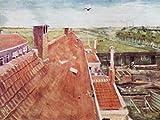 1art1 53501 Vincent Van Gogh - Dächer, Blick Vom Atelier