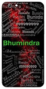 Bhumindra (King , Lord Of The Land) Name & Sign Printed All over customize & Personalized!! Protective back cover for your Smart Phone : Samsung Galaxy Note-3