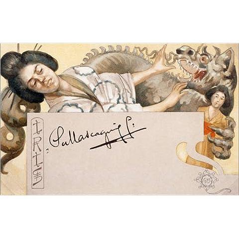 Stampa su acrilico 120 x 80 cm: Iris di Adolfo Hohenstein / akg-images