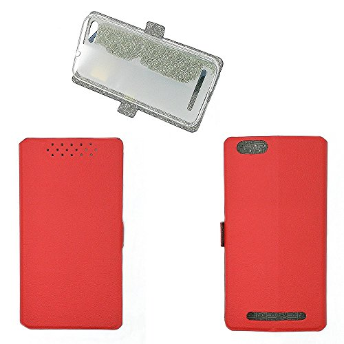 QiongniAN Hülle für GiONEE Elife S Plus hülle Schutzhülle Case Cover Red