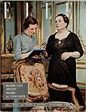 ELLE [No 427] du 15/02/1954 - MADAME COTY DEVIENT MADAME LA PRESIDENTE - PRET-A-PORTER 1954 - CHEZ EMMAUS - L'ABBE PIERRE MOBILISE PARIS PAR COLETTE POMME-GEORGES DUDOGNON