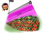 UNION Vollspektrum Pflanzenlampe 45W LED Pro Pflanzenlicht Pflanzenleuchte Wachstumslampe grow lampe Zimmerpflanzen für Frucht Wachstum Blumen Obst Gemüse