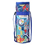 #10: Trendy Bottle Cover To keep water Cool For long Hours Compatible to all 1 Liter Bottle