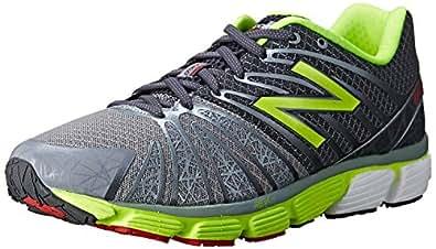 New BalanceM890 Neutral Run Shoe-M - M890 Natürlicher Laufschuh-m Herren, (Grey/Lime), 39.5 N EU