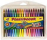 BiC Plastidecor - Ceras de colores, pack de 36
