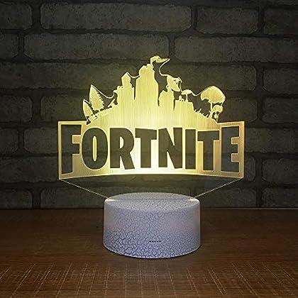 Porque no tener una lámpara fortnite? No necesariamente puede ser tu compañía de mesa de noche, puede estar también en tu repisa o escritorio eh, piénsalo crack!