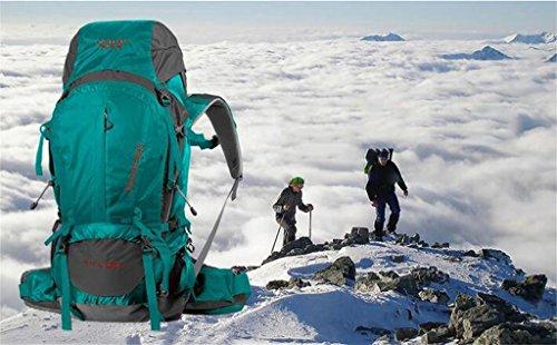 spalla sacchetto di alpinismo zaino esterno autentica borsa da viaggio esterno zaino 50L Con verde malachite
