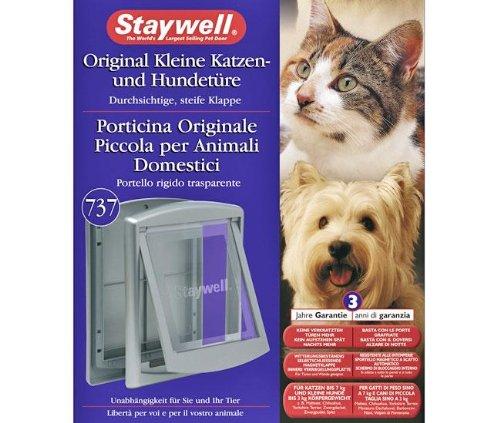 Artikelbild: Karlie STAYWELL 737, Katzen- und Hundetüre - Grau, für Hunde und Katzen