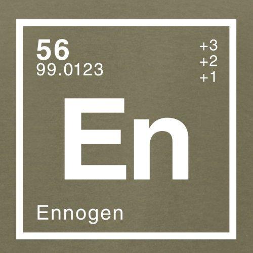 Enno Periodensystem - Herren T-Shirt - 13 Farben Khaki