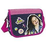 Soy Luna Tasche Handtasche Kindertasche 22 x 24 cm Schultertasche für Mädchen mit Klettverschluss Umhängetasche Kindergartentasche