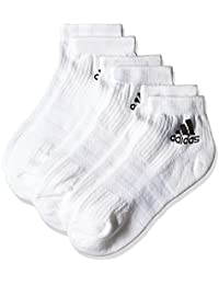 adidas 3S PER AN HC 3P - Calcetines unisex, color blanco, talla 39-42