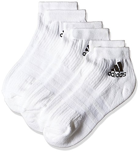 adidas Lauf/Knöchelsocken 3-Streifen Performance 3 Paar, weiß, 39-42, AA2285 (Adidas-socken Für Männer)