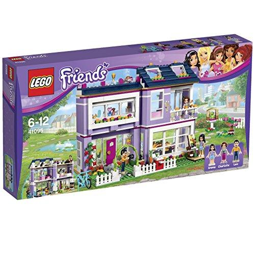 LEGO Friends - 41095 - La Maison d'Emma - Jeu de Construction