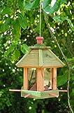 VogelhausFutterhaus-Futterstationmit-ohne-Beleuchtung-Gartenwetterfest-HELLBRAUN-LASIERT-robuststabilVogelhuser-VogelhausFutterhaus-FutterstationVogelhaus
